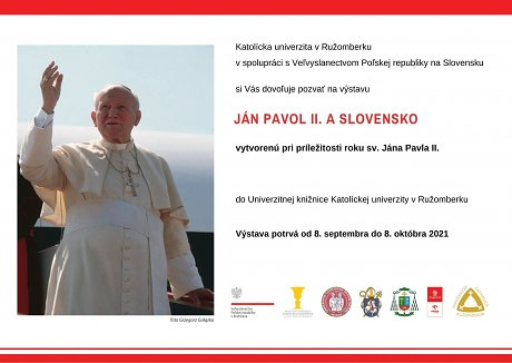 Výstava Ján Pavol II. a Slovensko