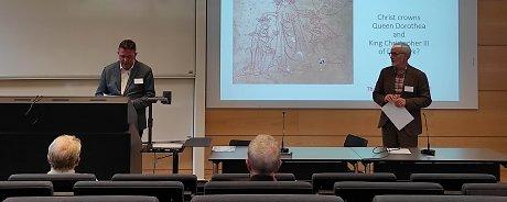 Vedci z Katedry  hudby a Ústavu hudobnej vedy SAV prezentovali vzácny rukopis na Lundskej univerzite vo Švédsku