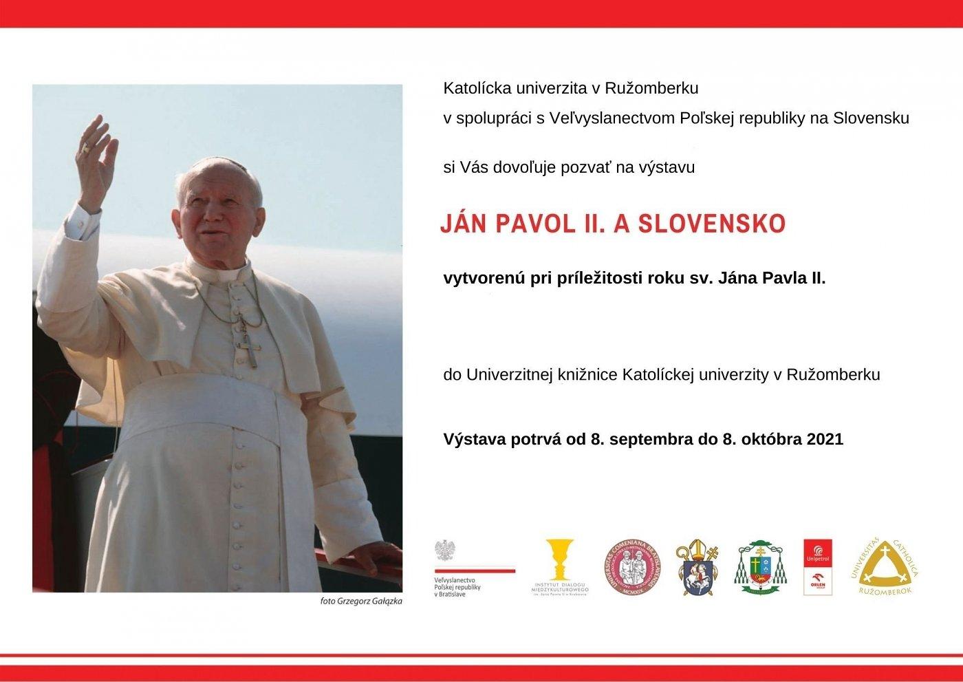 Ján Pavol II. a Slovensko