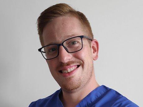PhDr. Martin Gábor, absolvent študijného programu fyzioterapia