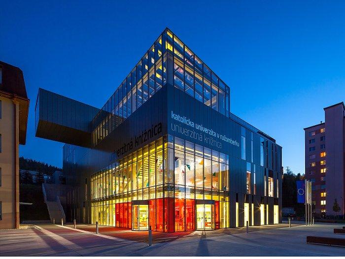 Moderný univerzitný campus