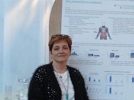 Adriana, absolventka študijného programu ošetrovateľstvo
