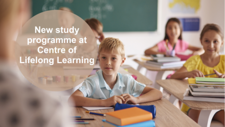 We are opening the Extended Study of Teaching for Primary Education