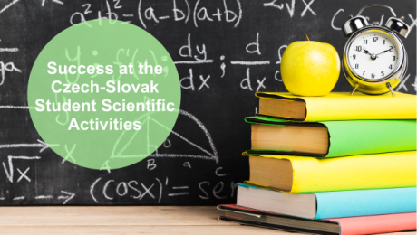 Our student from Department of Mathematics placed second in Czech-Slovak Student Scientific Activity (SSA)