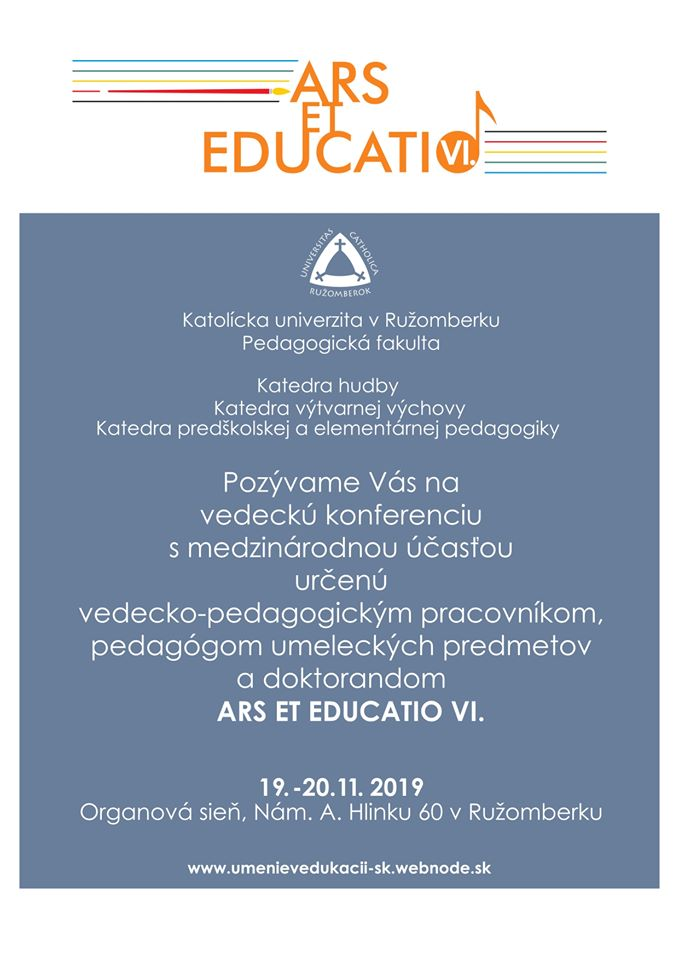 ars et educatio