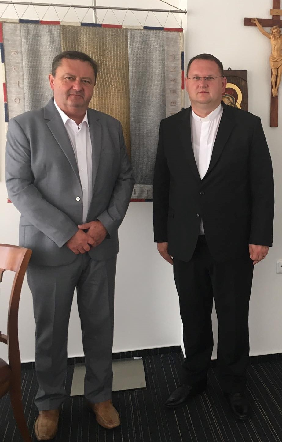 KU v Ružomberku navštívil rektor Pápežského slovenského kolégia sv. Cyrila a Metoda