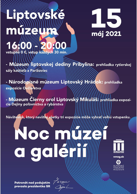 Noc múzeí a galérií 2021 v Liptovskom múzeu
