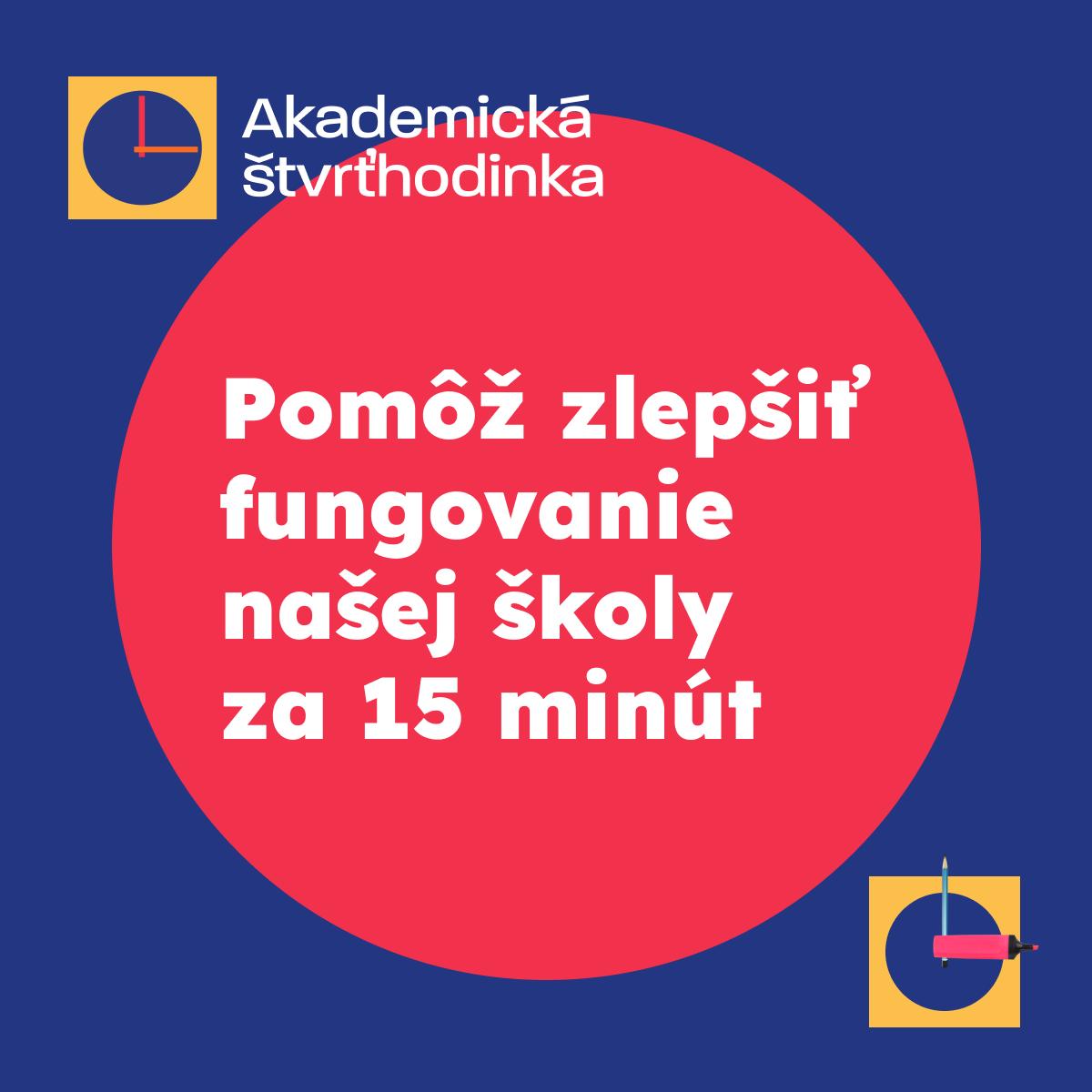 Akademická štvrťhodinka začína aj na KU v Ružomberku