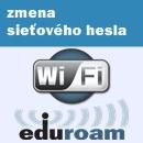 Eduroam -zmena sieťového hesla